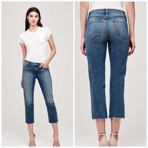 L'AGENCE Jaden Cropped Bootcut Jeans